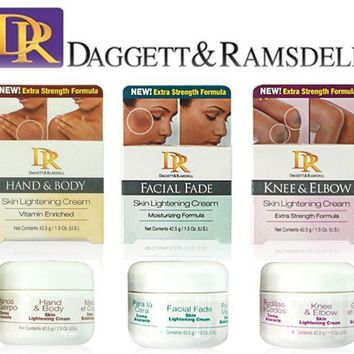 DR Daggett & Ramsdell Hand & Body, Facial Fade, Knee & Elbow Lightening Cream