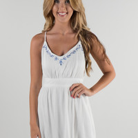 Summer in the South White Dress