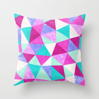 Movement 3 Throw Pillow by Jacqueline Maldonado
