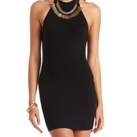 T-Back Halter Bodycon Dress