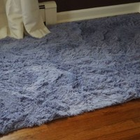 College Plush Rug - 4' X 6' - Cosmic Sky
