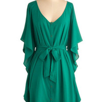 Jack by BB Dakota You and Me Forever Dress in Green | ModCloth.com