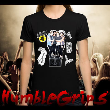 5SOS Second Of Summer Doodle T Shirt for Man and Ladies