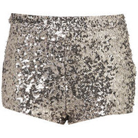 Silver Sequin Knickers