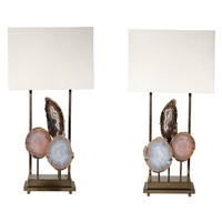 "Dragonette Ltd. - Dragonette Ltd. - Pair of Limited Edition ""Pedra"" Lamps by Dragonette Ltd. - 1stdibs"