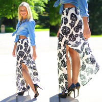 Roses of Summer Maxi Skirt