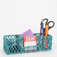 Woven Pencil Cup Holder - Urban Outfitters
