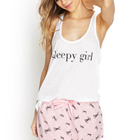 Sleepy Girl PJ Set