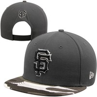 New Era San Francisco Giants 9FIFTY Urban Camo Snapback Hat - Graphite