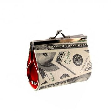 B2 – ALL ABOUT THE BENJAMINS COIN PURSE – LARGE