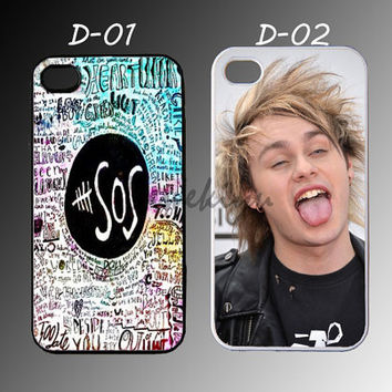 iphone 4/4s,5/5s,5c, Samsung Galaxy s3,s4 (mini), s5, Note 2,3, iPod Touch 4,5, design 5 seconds of summer