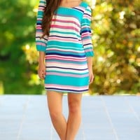 Wine Country Tunic-Coral