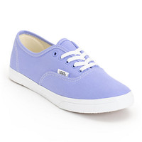 Vans Girls Authentic Lo Pro Jacaranda Purple & True White Shoe