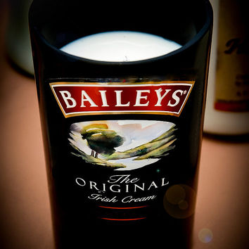 Baileys Original Irish Creme Liqueur Bottle Stunning All Natural Soy Candle