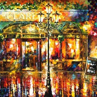Clarens — PALETTE KNIFE Oil Painting On Canvas By Leonid Afremov - Size 30x40. 10% discount coupon - deviantart10off
