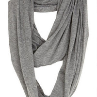 Solid Infinity Scarf -