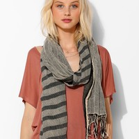 Two-Fold Stripe Scarf - Urban Outfitters