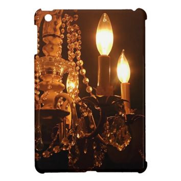 Bling Me Baby 2 - Shabby Chandelier iPad Mini Case