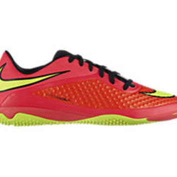 Nike HYPERVENOM Phelon Men's Indoor-Competition Soccer Shoes - Bright Crimson