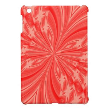 Abstract Butterfly Peach iPad Mini Case