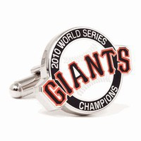 2010 Commemorative San Francisco Giants Cufflinks-CLI-PD-SFG10-SL