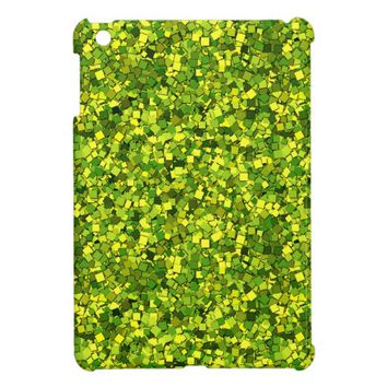 Glitter Lemon Lime iPad Mini Case