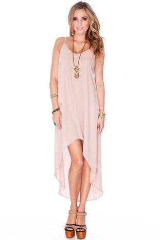 Sweet Breeze Dress in Champagne :: tobi