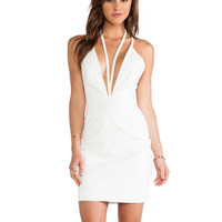 AQ/AQ Jess Mini Dress in Ivory
