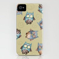 Hoot hoots around iPhone Case by Carina Povarchik | Society6
