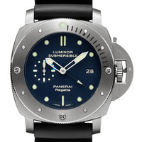 Panerai Luminor Submersible 1950 Regatta 3 Days GMT Automatic Ti [2012092498] - $95.00 : High Quality replica watches on sale,replicapanerai.