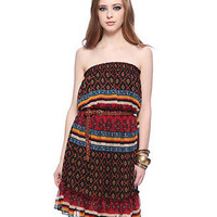Lathika Chiffon Tube Dress - New Arrivals - 2053479798 - Forever21
