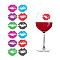 Silicone Drink Markers, set of 12