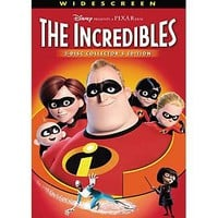 Disney-Pixar The Incredibles (Widescreen) DVD
