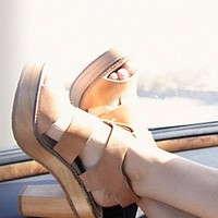 Free People Womens Dule Platform Heel -