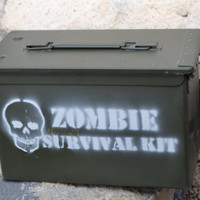 The Original Ammo Can Zombie Survival Kit by zombiesurvivalzone