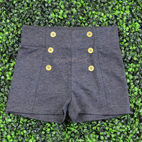 Portsmouth Charcoal Sailor Shorts