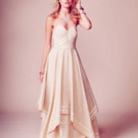 $700.00 Free People Jill&#x27;s Limited Edition White Summer Dress at Free People Clothing Boutique