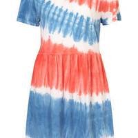 Petite Tie Dye T-Shirt Dress - New In This Week  - New In  - Topshop USA