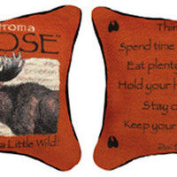 Advice From A Moose Pillow : Log Cabin Styles