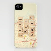 let's run away iPhone Case by Shannonblue | Society6