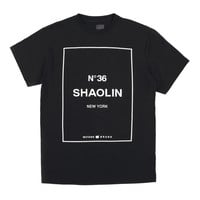 Shaolin Tee in Black
