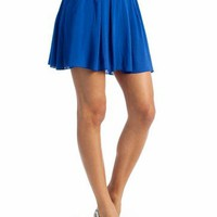 pleated skirt $21.90 in BLUE GREEN - New Shoes | GoJane.com