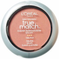 L'Oreal Paris True Match Super-Blendable Blush, Precious Peach N1-2
