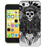 Bradley's shop Tribe Indian Skull TPU Phone Case for Iphone 4 4s Hot Sale