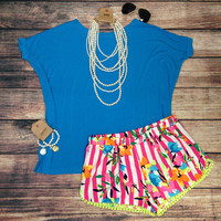 THE CARNIVALE SHORTS – LaRue Chic Boutique