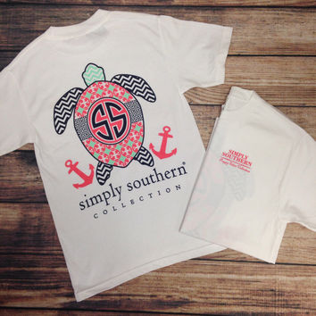 SIMPLY SOUTHERN - TURTLE TEE – LaRue Chic Boutique