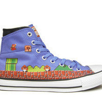 CONVERSE Nintendo SUPER MARIO Blue 26cm US7.5 CHUCK TAYLOR STOCK NEW ALL STAR | eBay