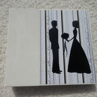 6x6 Chipboad Wedding Scrapbook Photo Album