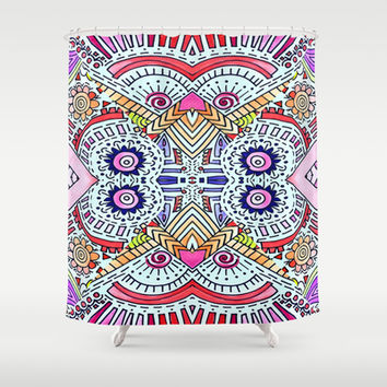 Fiesta Shower Curtain by DuckyB (Brandi)
