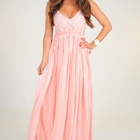 RESTOCK: Wherever Love Goes Dress: Light Pink